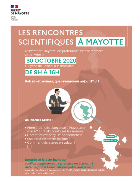 Invitation aux rencontres scientifique à Mayotte