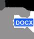 Télécharger l'attestation de déplacement dérogatoire au format DOCX