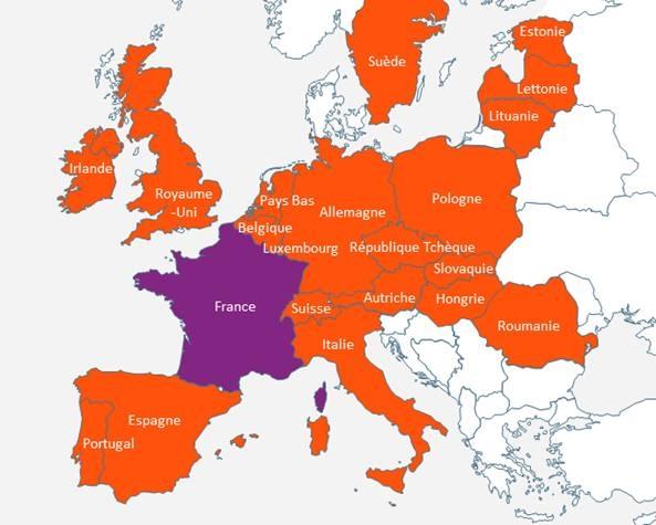 Carte Belgique Espagne.Echanges Transfrontaliers D Informations Relatives Aux