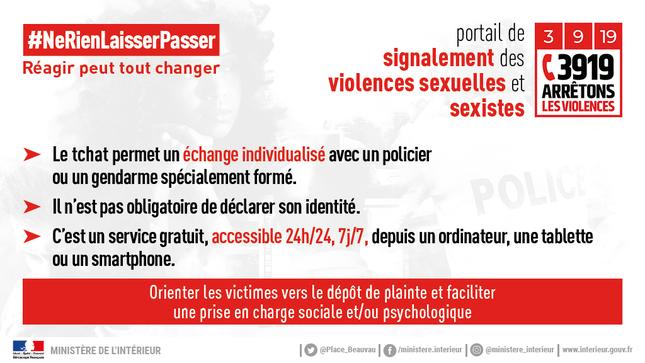 Plateforme de signalement des violences sexistes et sexuelles