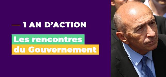 1 an d\'action : le Gouvernement vient à votre rencontre ! / L\'actu ...