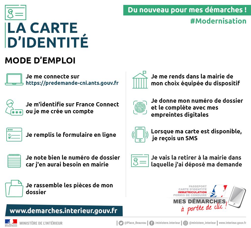 renouvellement carte d identité gouv fr Obtenir ou renouveler votre carte d'identité, mode d'emploi