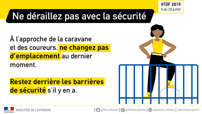 TDF - Barrieres de securite