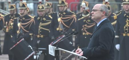 5447ef1a5d3 Hommage funèbre aux trois militaires de la Gendarmerie nationale décédés  dans l Oise